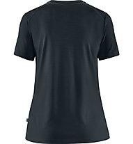 Fjällräven Abisko Wool Tältplats - Trekkingshirt - Damen, Blue