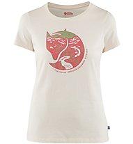Fjällräven Arctic Fox - T-Shirt Wandern - Damen, White