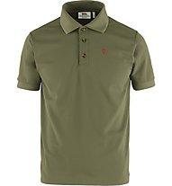 Fjällräven Crowley Piqué - Wander Poloshirt - Herren, Olive-Green