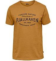 Fjällräven Est. 1960 - T-Shirt Trekking - Herren, Orange