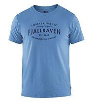 Fjällräven Est. 1960 - T-Shirt Trekking - Herren, Light Blue