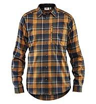 Fjällräven Fjällglim - camicia a maniche lunghe - uomo, Brown/Blue