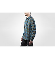 Fjällräven Fjällglim - camicia a maniche lunghe - uomo, Black/Blue