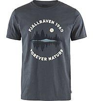 Fjällräven Forest Mirror - T-Shirt - Herren, Dark Blue