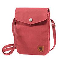 Fjällräven Greenland Pocket - borsa con tracolla, Red Dahlia