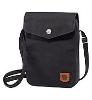 Fjällräven Greenland Pocket - borsa con tracolla, Black