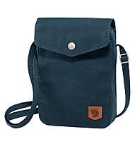 Fjällräven Greenland Pocket - borsa con tracolla, Dark Blue