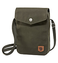 Fjällräven Greenland Pocket - borsa con tracolla, Dark Green
