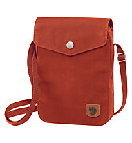 Fjällräven Greenland Pocket - borsa con tracolla, Red