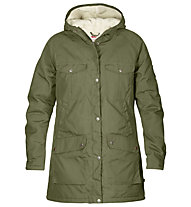 Fjällräven Greenland Winter - giacca con cappuccio tempo libero - donna, Green