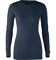 Fjällräven High Coost Top LS Damen Langarmshirt, Blue