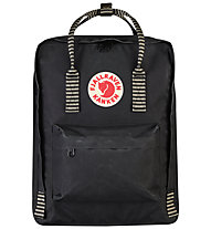 Fjällräven Kanken 16 L - Zaino, Black/Striped