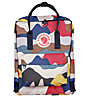 Fjällräven Kanken Art - Rucksack, Black/White/Red