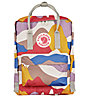 Fjällräven Kanken Art - Rucksack, Red/Yellow/Purple
