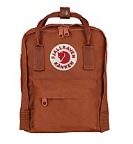 Fjällräven Kanken Mini 7 L - zaino tempo libero, Brown Red