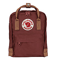 Fjällräven Kanken Mini 7 L - zaino tempo libero, Dark Red/Orange