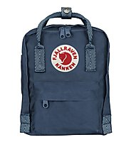 Fjällräven Kanken Mini 7 L - zaino tempo libero, Dark Blue/Light Blue