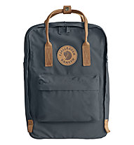 "Fjällräven Kanken No.2 Laptop 15"" - zaino portacomputer, Grey/Brown"