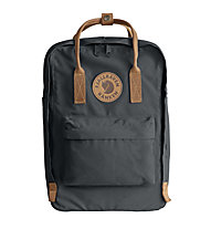 "Fjällräven Kanken No.2 Laptop 15"" - zaino portacomputer, Dark Grey/Brown"