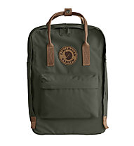 "Fjällräven Kanken No.2 Laptop 15"" - zaino portacomputer, Dark Green/Brown"