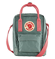 Fjällräven Kanken Sling - Umhängetasche, Light Green/Orange