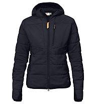 Fjällräven Keb Padded - giacca in pile - donna, Black