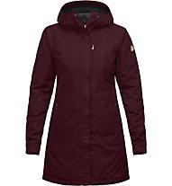 Fjällräven Kiruna - giacca trekking con cappuccio - donna, Dark Red