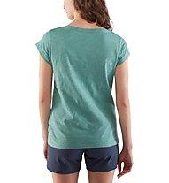 Fjällräven Logo stamp - T-shirt - donna, Light Blue