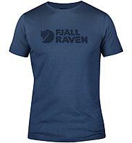 Fjällräven Logo - T-Shirt Bergsport - Herren, Blue