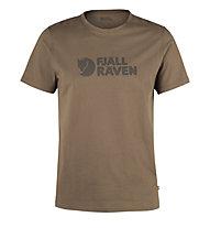 Fjällräven Logo - T-Shirt Trekking - Herren, Brown
