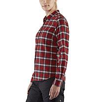 Fjällräven Övik Flannel - Langarmbluse - Damen, Red