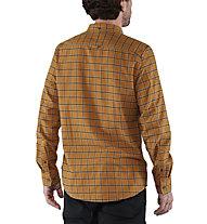 Fjällräven Övik Flannel - camicia a maniche lunghe - uomo, Yellow