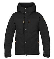 Fjällräven Övik Stretch Padded - giacca con cappuccio trekking - uomo, Black