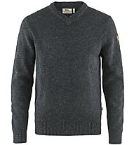 Fjällräven Övik - maglione - uomo, Dark Grey