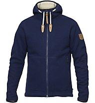 Fjällräven Polar Fleece - giacca in pile con cappuccio - uomo, Blue