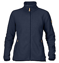 Fjällräven Stina Fleece - giacca in pile - donna, Dark Blue
