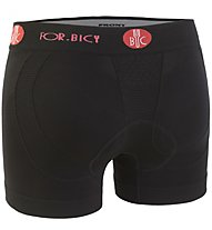 For-bicy Urban Life With Pad - Boxershort mit Sitzpolster - Herren, Black