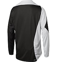 Fox Demo LS Preme Jersey - Radtrikot Downhill - Herren, Black/White