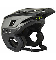Fox Dropframe Pro - casco MTB, Black/Grey