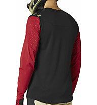 Fox FEXAIR DELTA LS - maglia bici a maniche lunghe - uomo, Red/Black