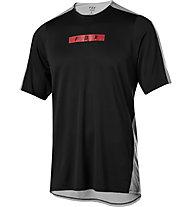 Fox Flexair Delta SS - maglia MTB - uomo, Black/Red