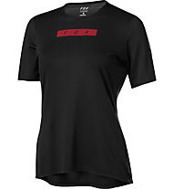Fox Flexair Delta - Mountainbikeshirt - Damen, Black