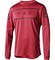 Fox Flexair LS Fine Line - Mountainbikeshirt Langarm - Herren, Red