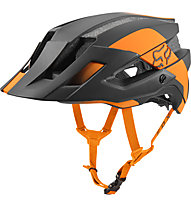 Fox Flux Mips Conduit - casco MTB, Black/Orange