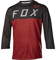 Fox Indicator 3/4 Jersey - MTB Radtrikot - Herren, Heather Red