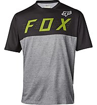 Fox Indicator SS Camo Jersey - MTB Radtrikot - Herren, Heather Grey