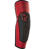 Fox Gomitiere MTB Launch Enduro Elbow Pads, Red/Black