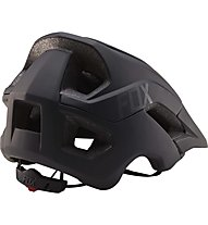 Fox Metah - Fahrradhelm, Solids Matte Black