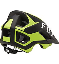 Fox Metah Flow - casco bici, Black/Yellow