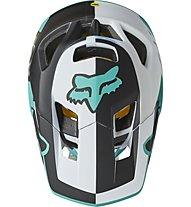 Fox Proframe Blocked - MTB Helm, Light Blue